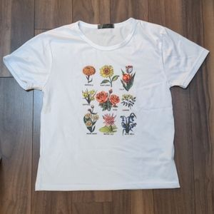 Vintage flower tee
